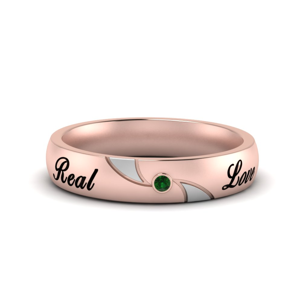 engraved-two-tone-women-emerald-wedding-band-in-FDWB9354BGEMGR-NL-RG-EG