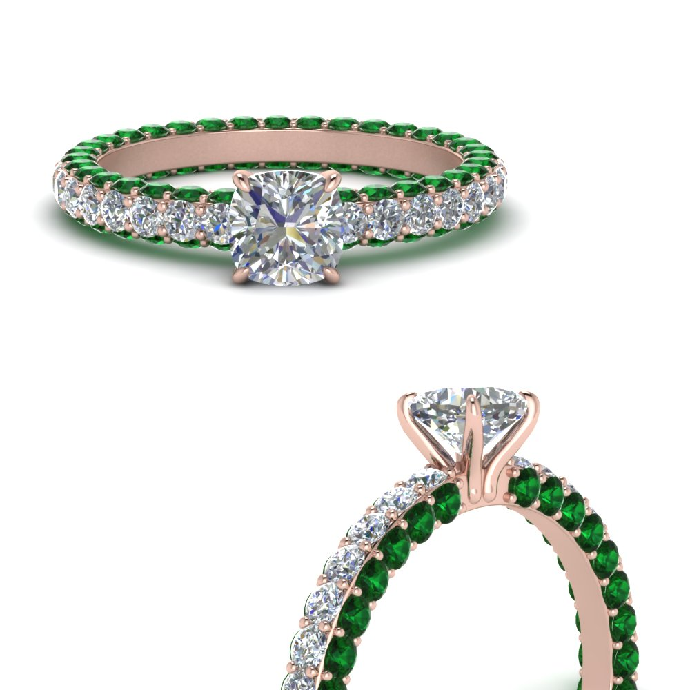 eternity-cushion-cut-diamond-engagement-ring-with-emerald-in-FD9240CURGEMGRANGLE3-NL-RG
