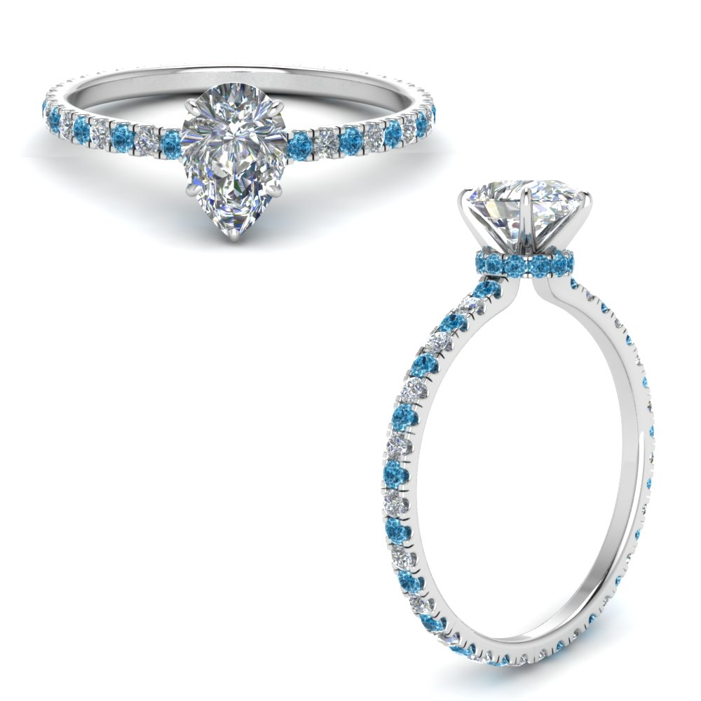 eternity-hidden-halo-pear-shaped-diamond-engagement-ring-with-blue-topaz-in-FD9168PERGICBLTOANGLE3-NL-WG