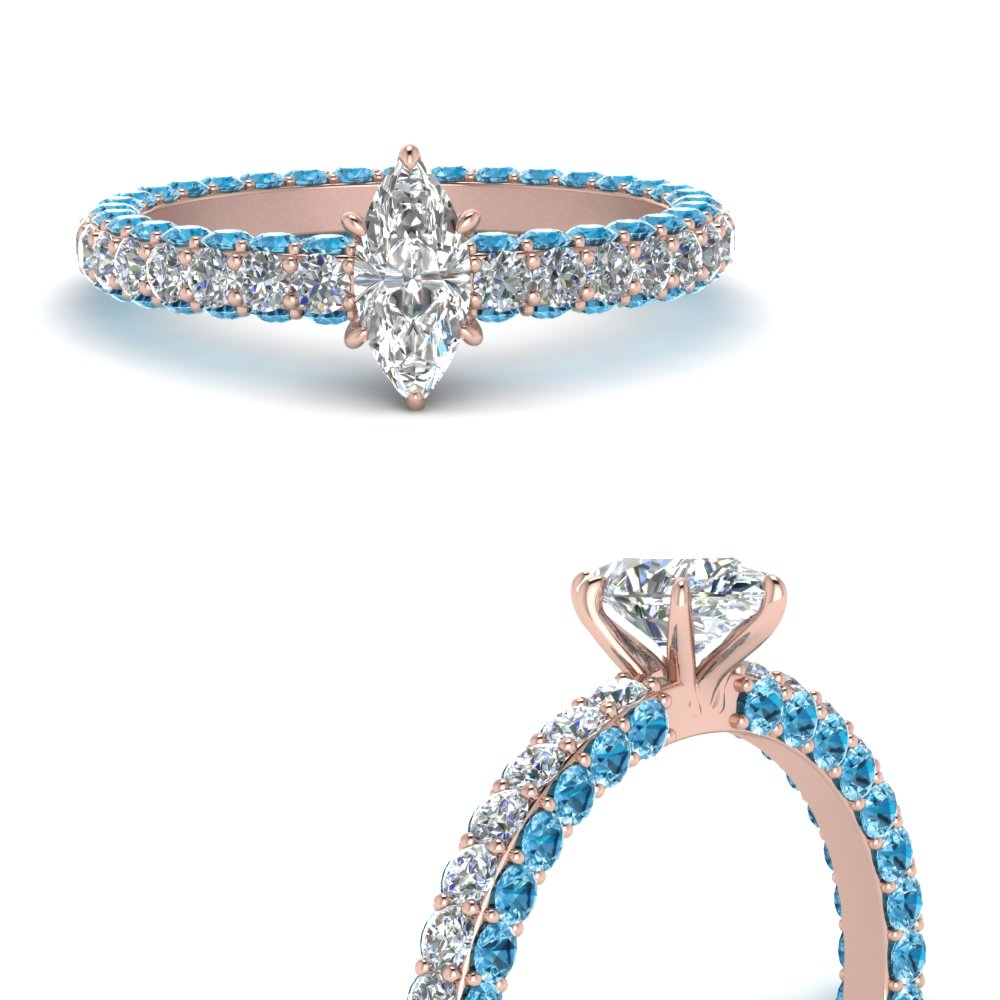 eternity-marquise-cut-diamond-engagement-ring-with-blue-topaz-in-FD9240MQRGICBLTOANGLE3-NL-RG