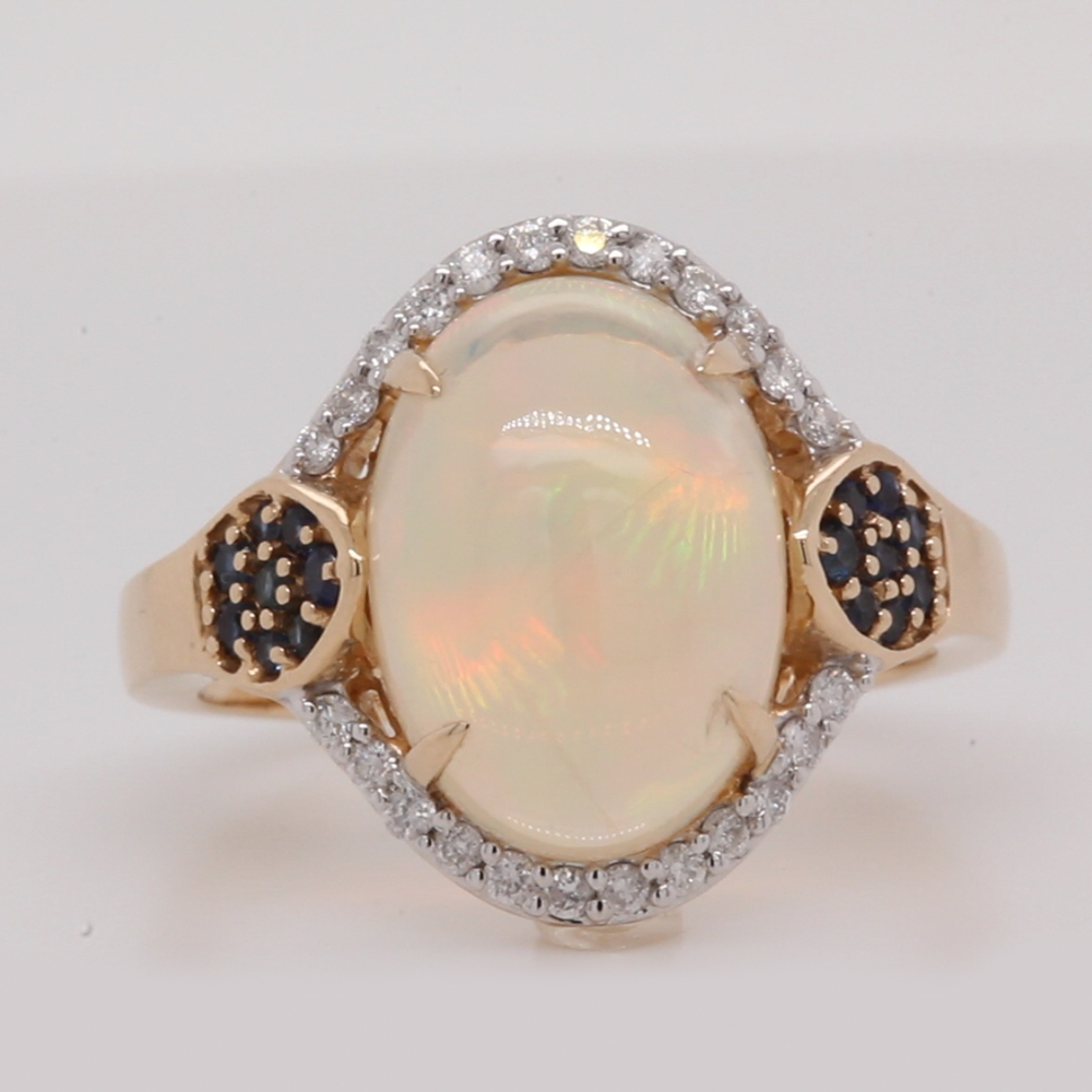 ethiopian-oval-opal-&-diamond-halo-engagement-ring-in-FDKHR14146-NL-YG