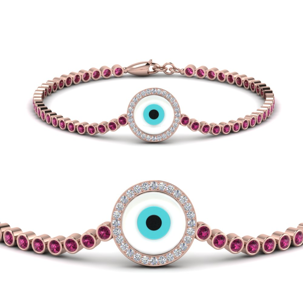 evil-eye-bezel-set-diamond-bracelet-with-pink-sapphire-in-FDBRC9157GSADRPIANGLE2-NL-RG