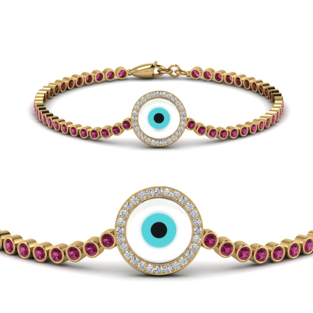 evil-eye-bezel-set-diamond-bracelet-with-pink-sapphire-in-FDBRC9157GSADRPIANGLE2-NL-YG