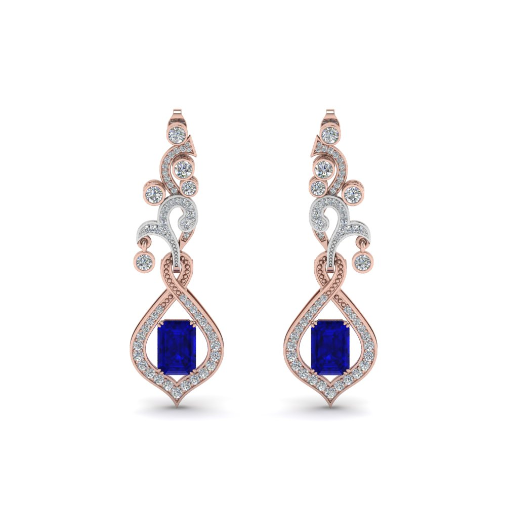 Exclusive Diamond Drop Earring