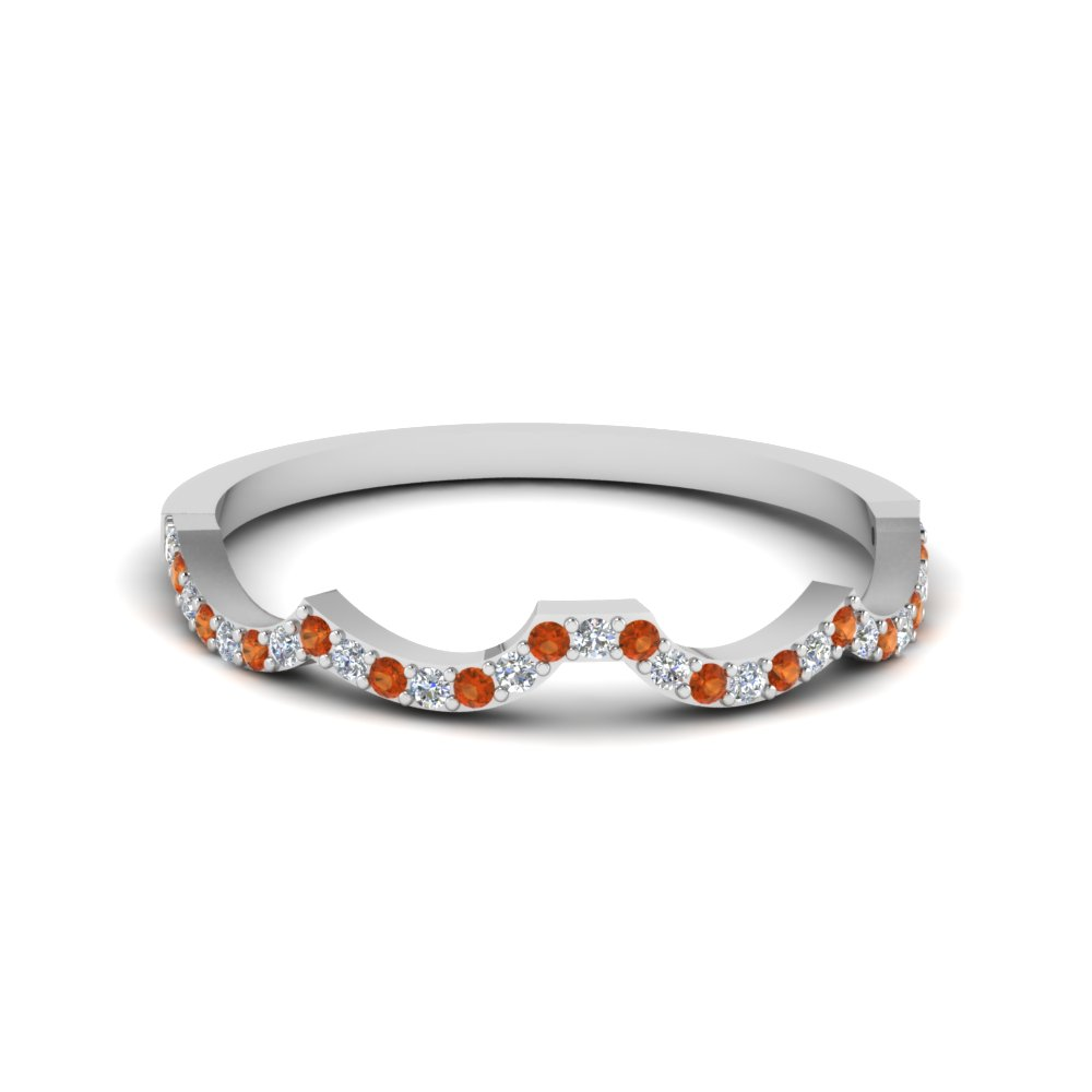 Fancy Curve Diamond Women Band