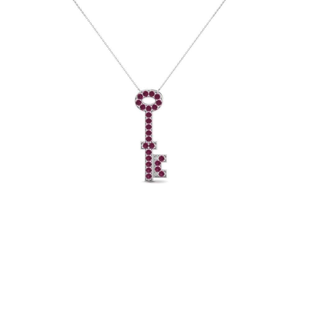 sb necklace with pink main pave pdp sapphire petite sbaps pendant products heart chains women and necklaces