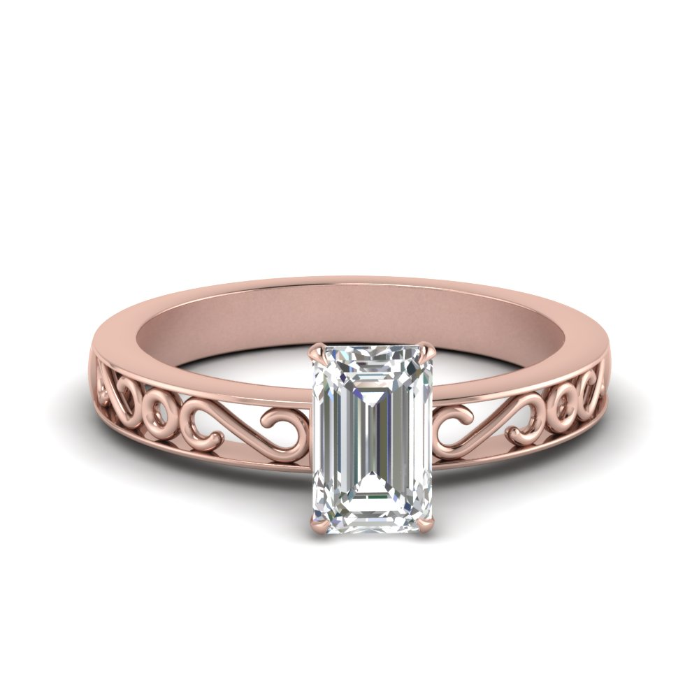 filigree-emerald-cut-single-stone-moissanite engagement-ring-in-FDENS3289EMR-NL-RG