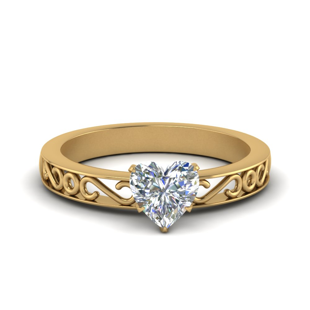 filigree-heart-shaped-single-stone-engagement-ring-in-FDENS3289HTR-NL-YG