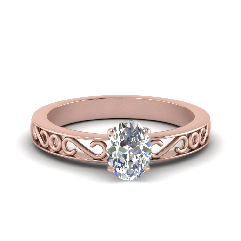 filigree-oval-shaped-single-stone-lab diamond engagement-ring-in-FDENS3289OVR-NL-RG