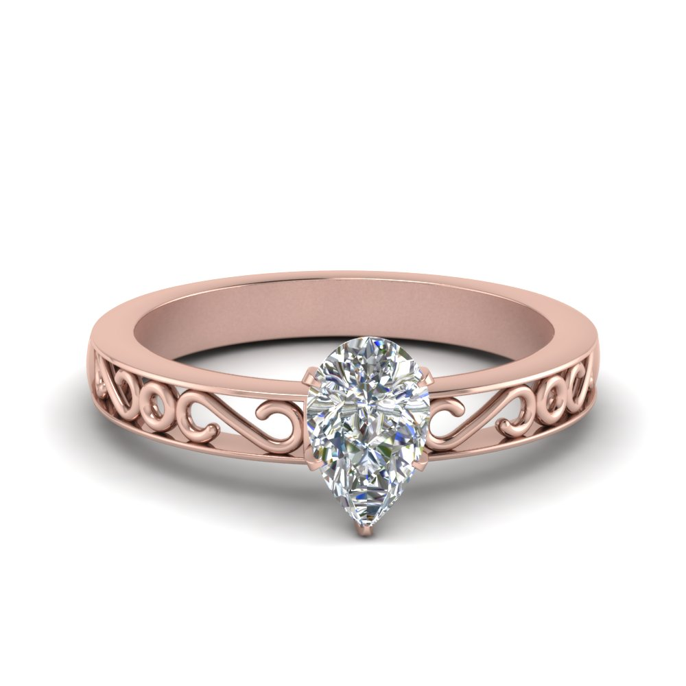 filigree-pear-shaped-single-stone-lab diamond engagement-ring-in-FDENS3289PER-NL-RG