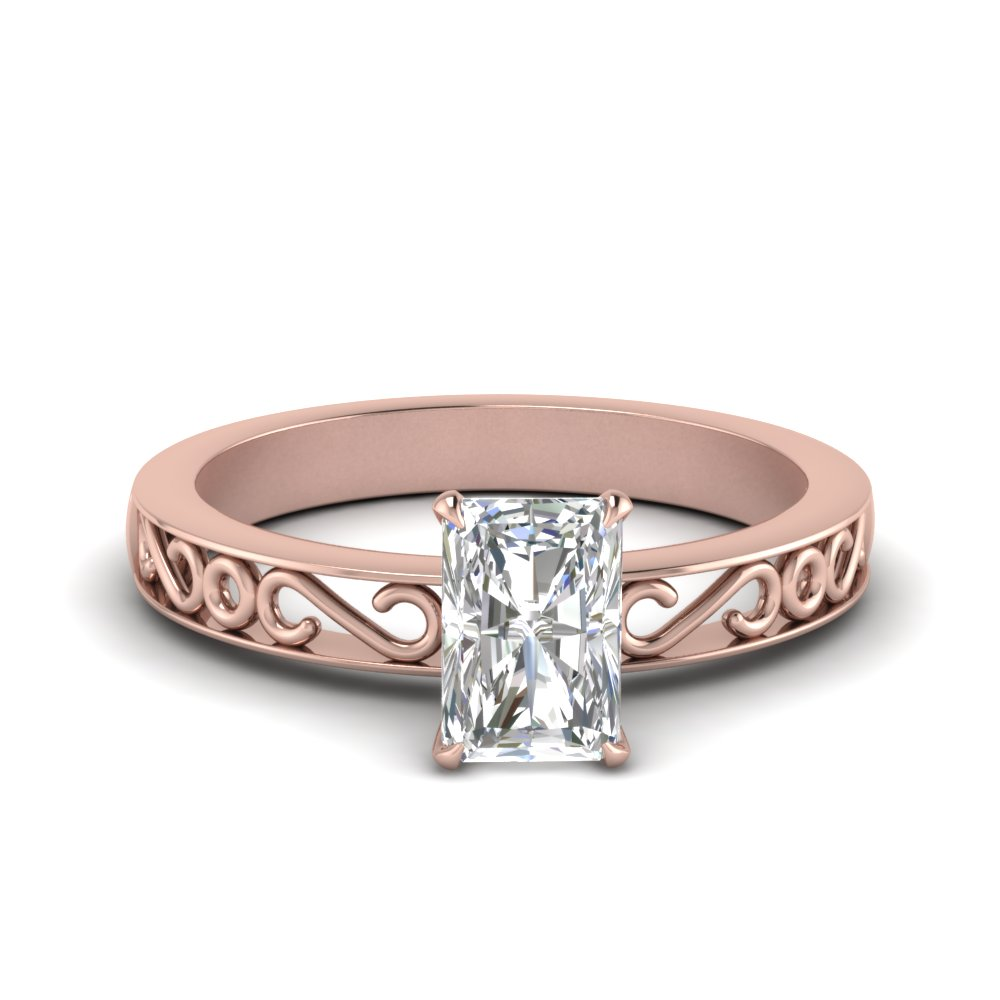 filigree-radiant-cut-single-stone-moissanite engagement-ring-in-FDENS3289RAR-NL-RG