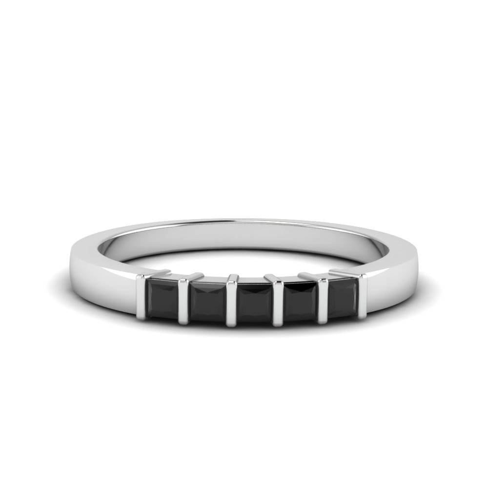 1/4 Ct. Five Stone Bar Wedding Band