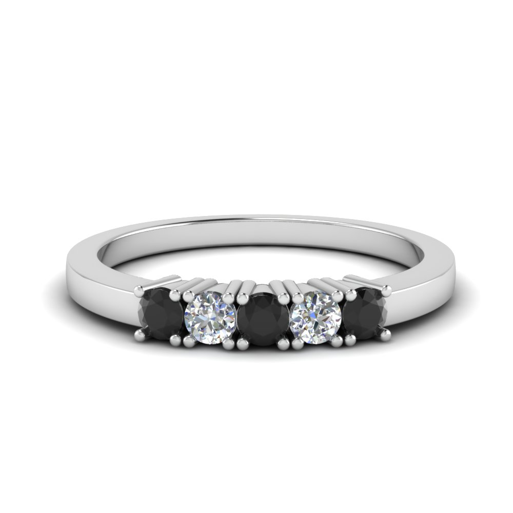 five stone anniversary band with black diamond in FDWB144ROGBLACK NL WG.jpg