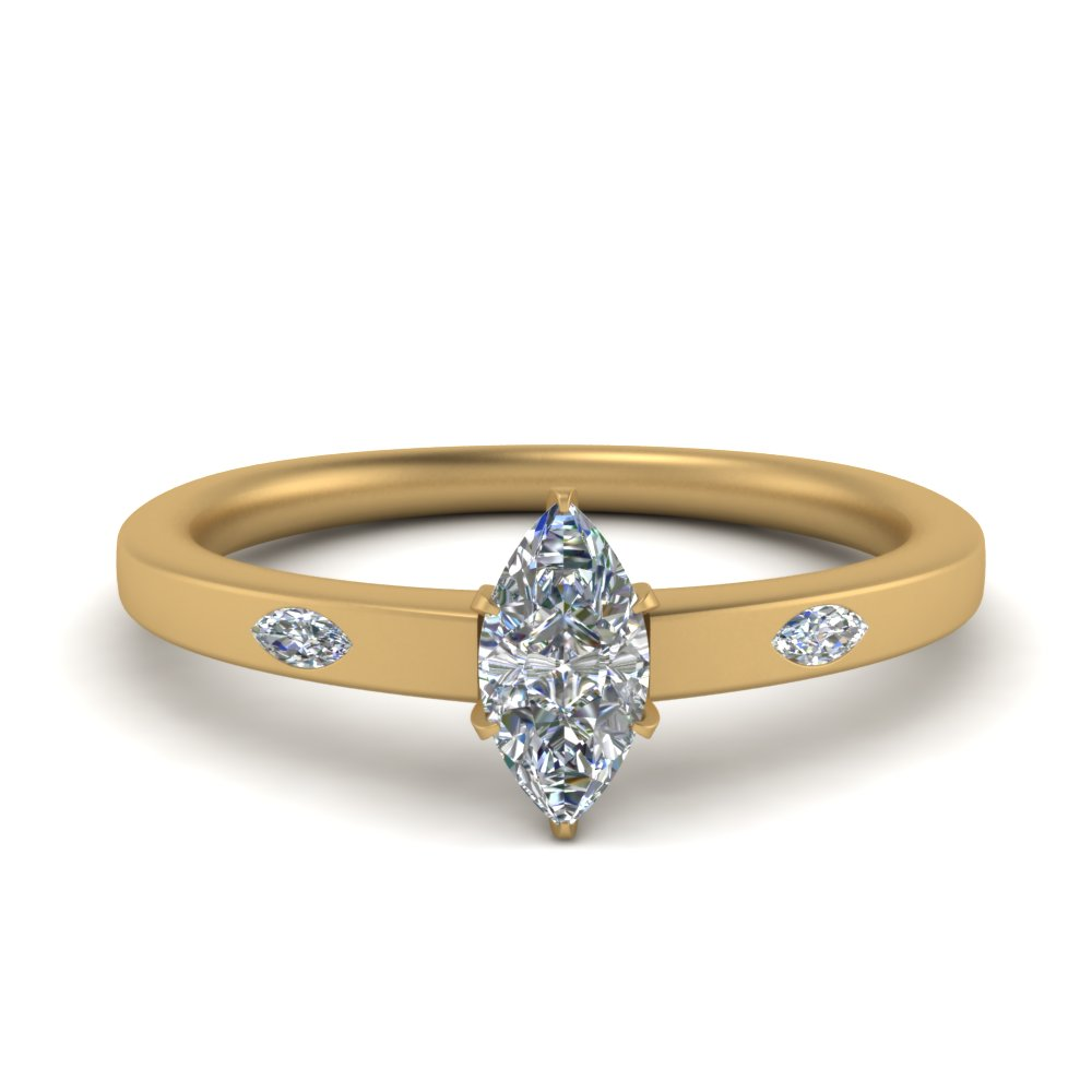 flat-3-stone-marquise-cut-diamond-engagement-ring-in-FD9172MQR-NL-YG