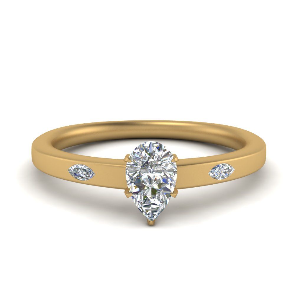 flat-3-stone-pear-shaped-diamond-engagement-ring-in-FD9172PER-NL-YG