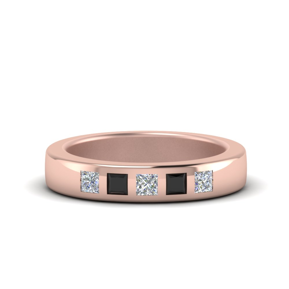 Flat Flush Set Diamond Women Band