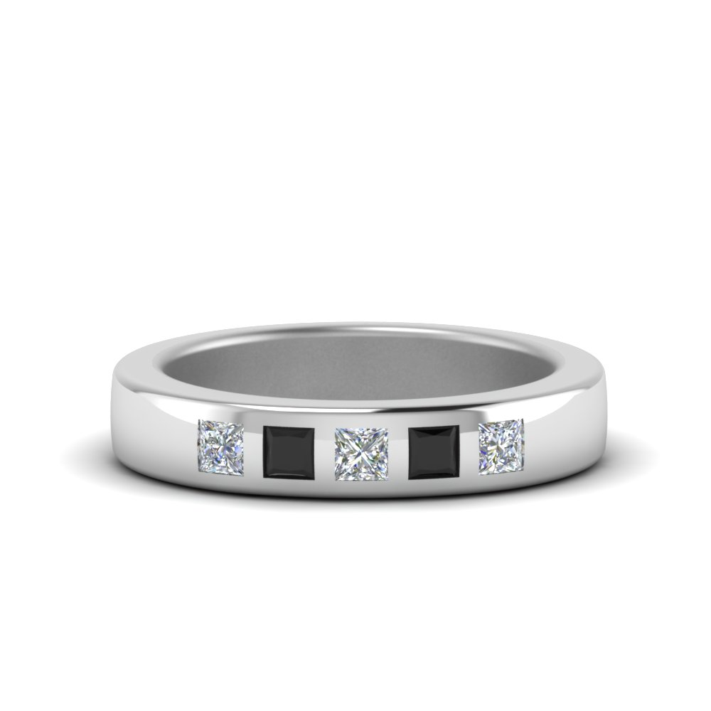 Flush Set Black Diamond Women Band