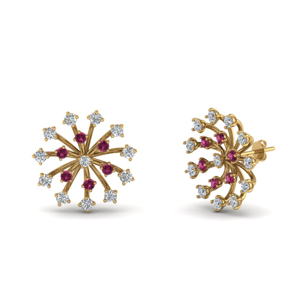 floating-diamond-stud-earring-with-pink-sapphire-in-FDEAR8877GSADRPIANGLE1-NL-YG