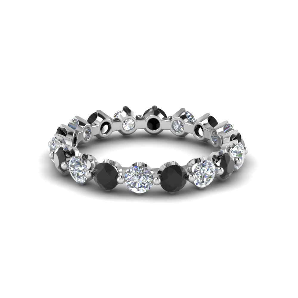 Black Diamond Women Eternity Bands
