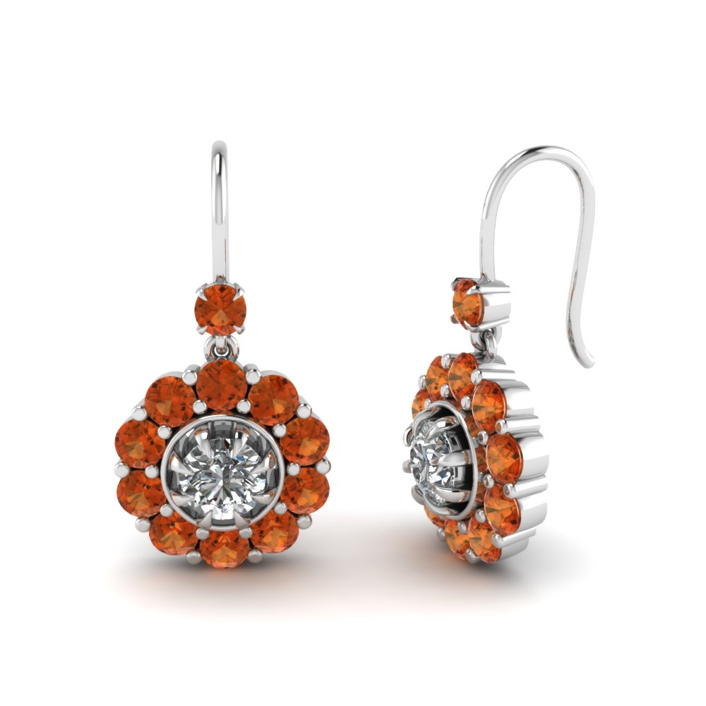 floral-diamond-dangle-earring-with-orange-sapphire-in-FDEAR1128GSAOR-NL-WG