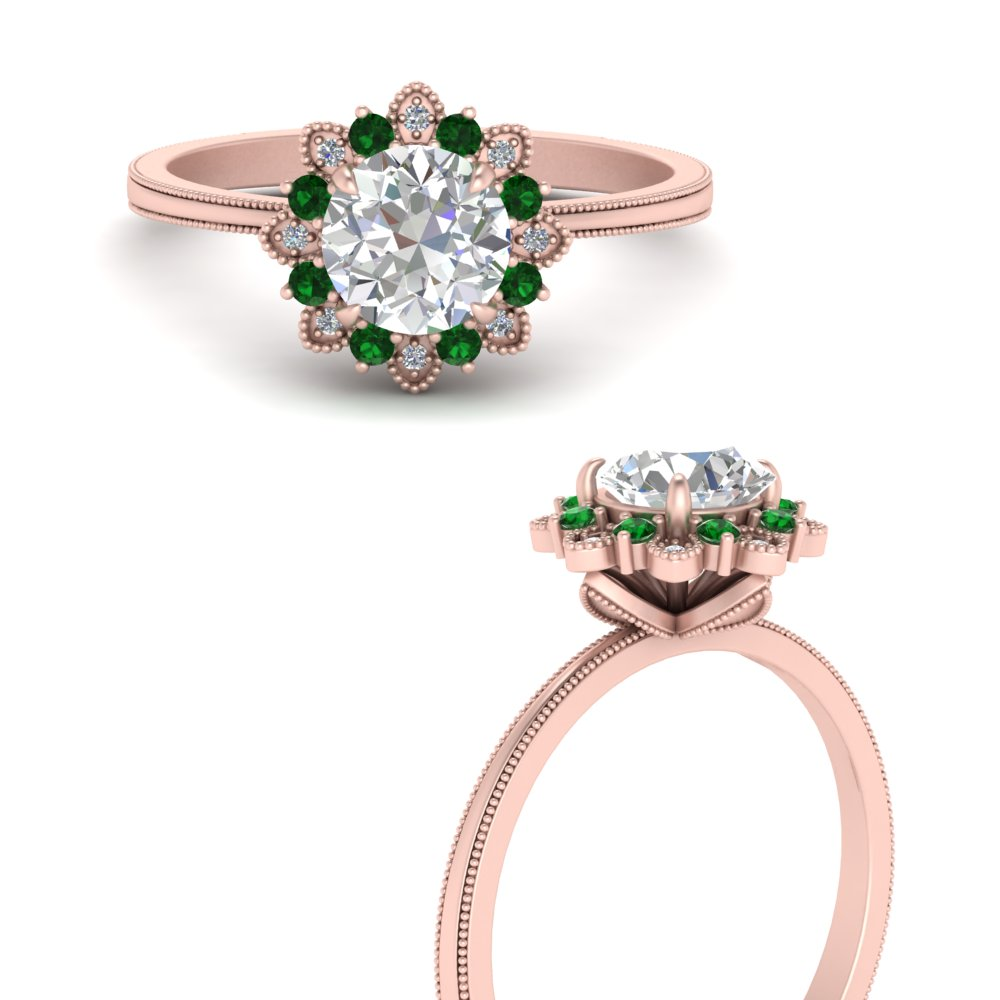 floral-halo-diamond-engagement-ring-with-emerald-in-FD64865RORGEMGRANGLE3-NL-RG