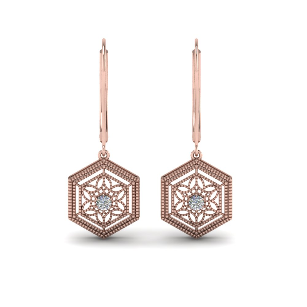 Filigree Dangle Earring