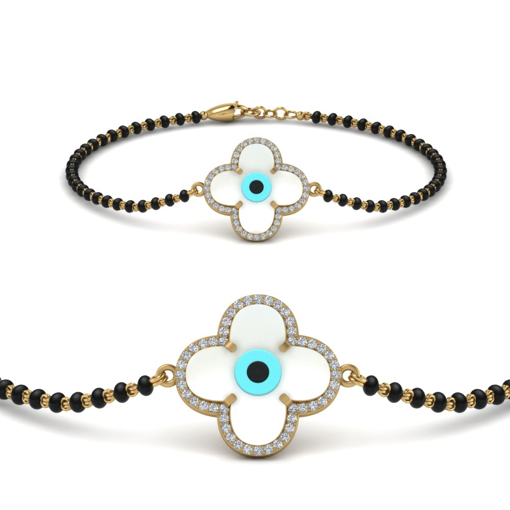 flower-evil-eye-diamond-bracelet-mangalsutra-in-MGSBRC9138ANGLE2-NL-YG
