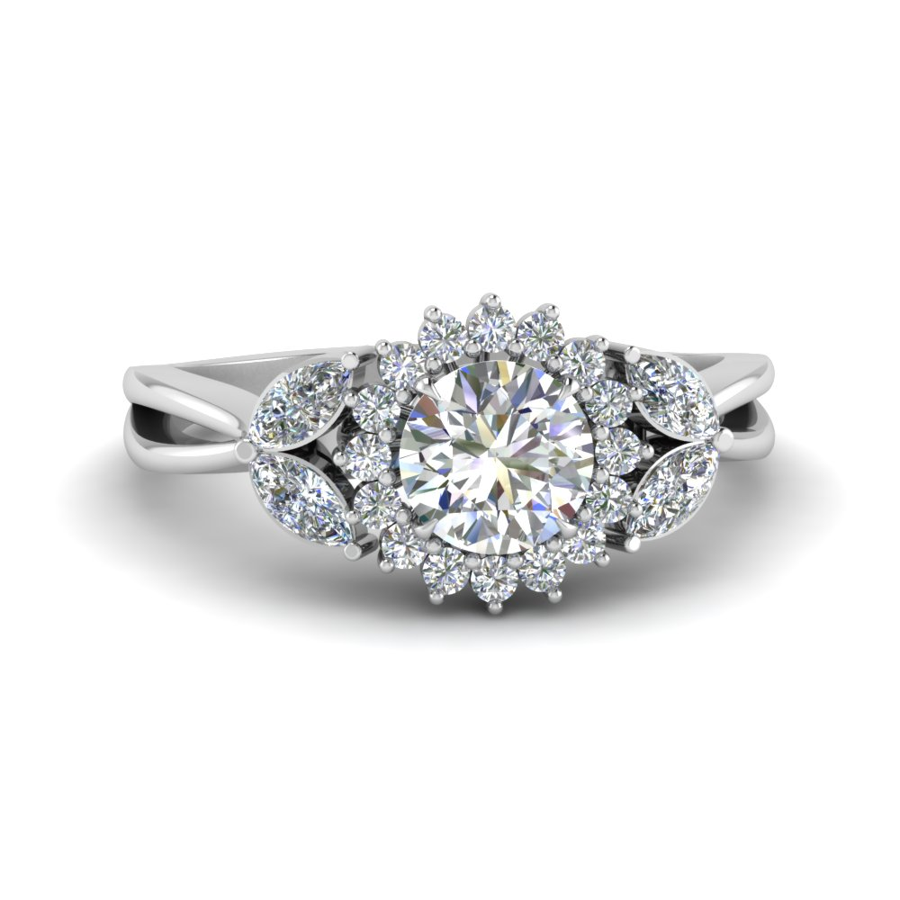 flower-halo-split-shank-moissanite-ring-in-FD9233ROR-NL-WG