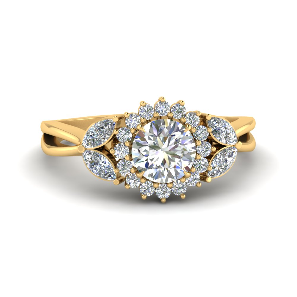 flower-halo-split-shank-diamond-ring-in-FD9233ROR-NL-YG