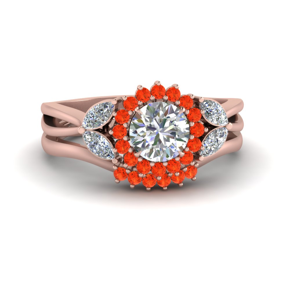 flower-halo-split-shank-diamond-ring-set-with-orange-topaz-in-FD9233ROGPOTO-NL-RG