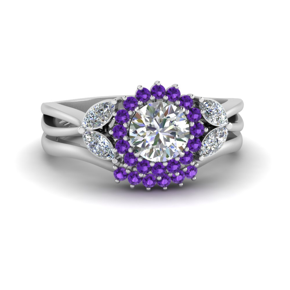 flower-halo-split-shank-diamond-ring-set-with-purple-topaz-in-FD9233ROGVITO-NL-WG