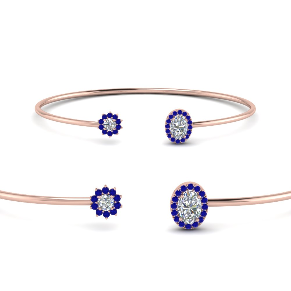 gold bangles gabriel bracelet fashion bangle diamond sapphire and white bracelets