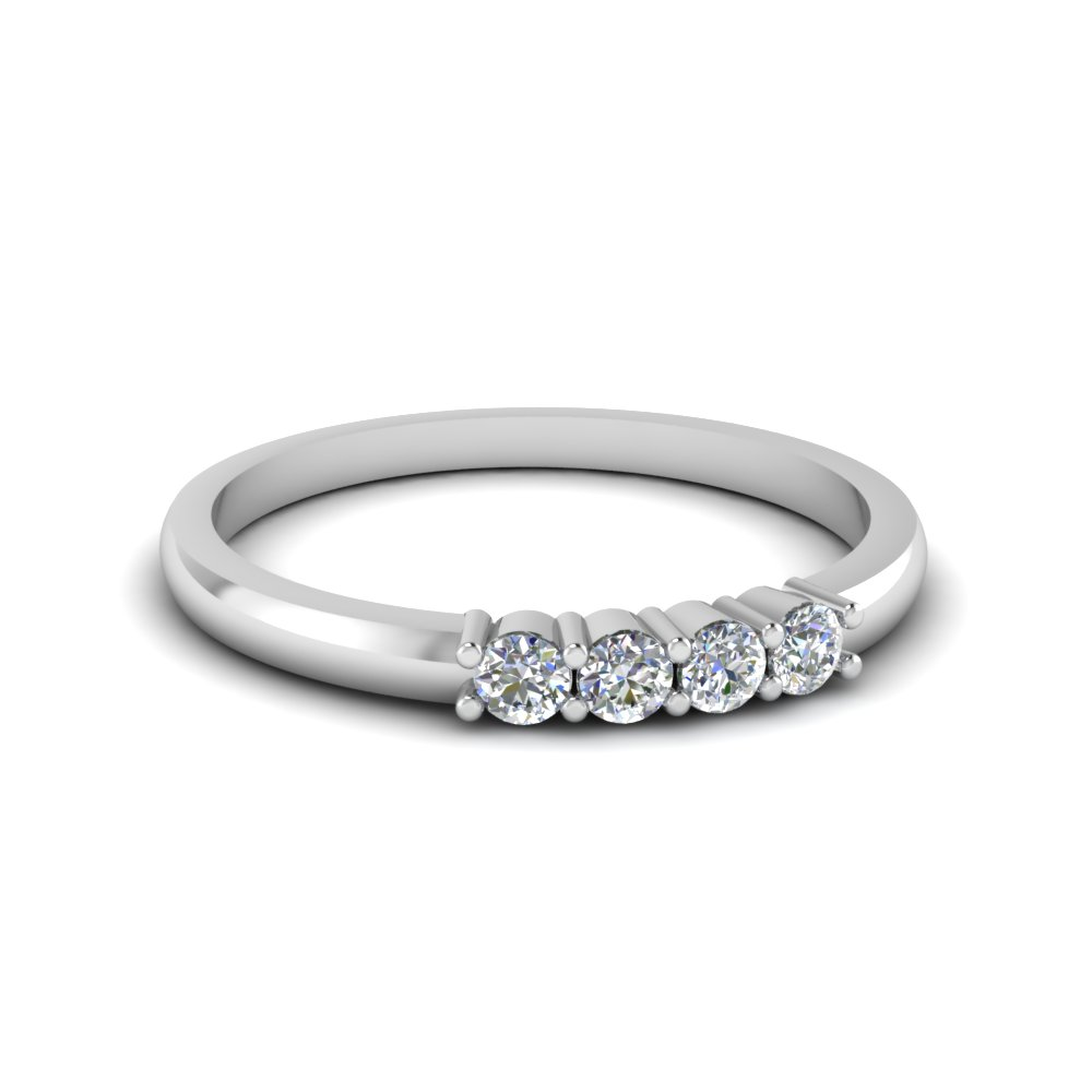 Womens Diamond Wedding Band