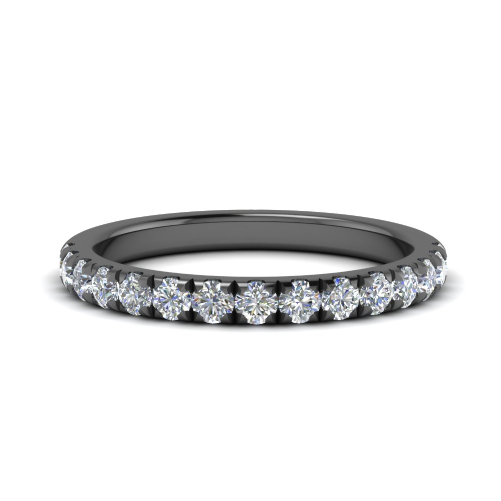french pave 0.50 ct. diamond wedding band in FD123883RO(2.00MM) NL BG.jpg