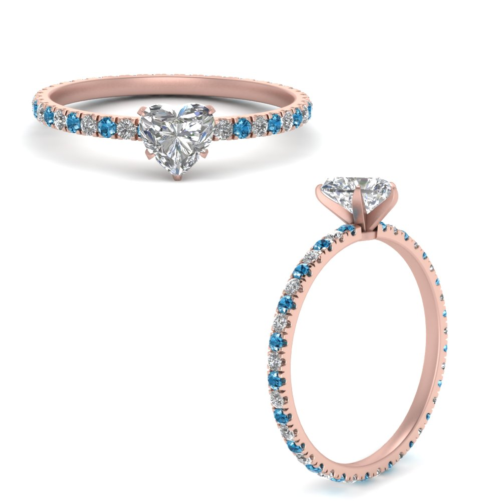 french-pave-heart-diamond-eternity-engagement-ring-with-blue-topaz-in-FD9341HTRGICBLTOANGLE3-NL-RG