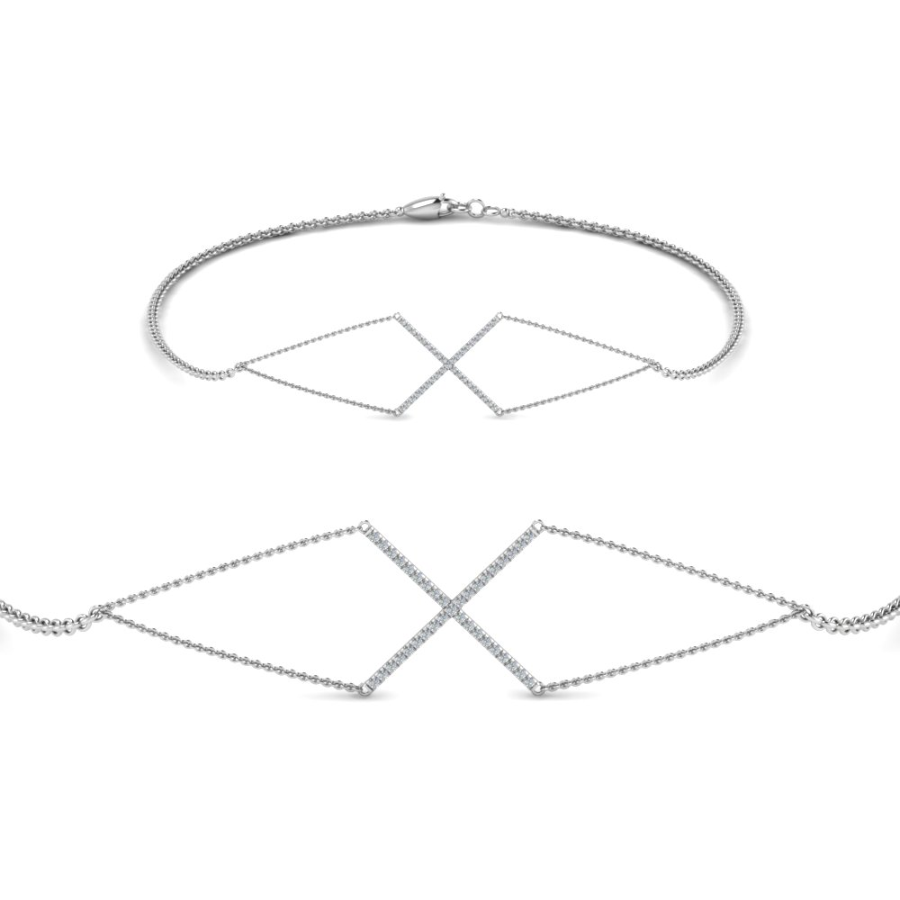 Geometrical Shape Bracelet For Womens