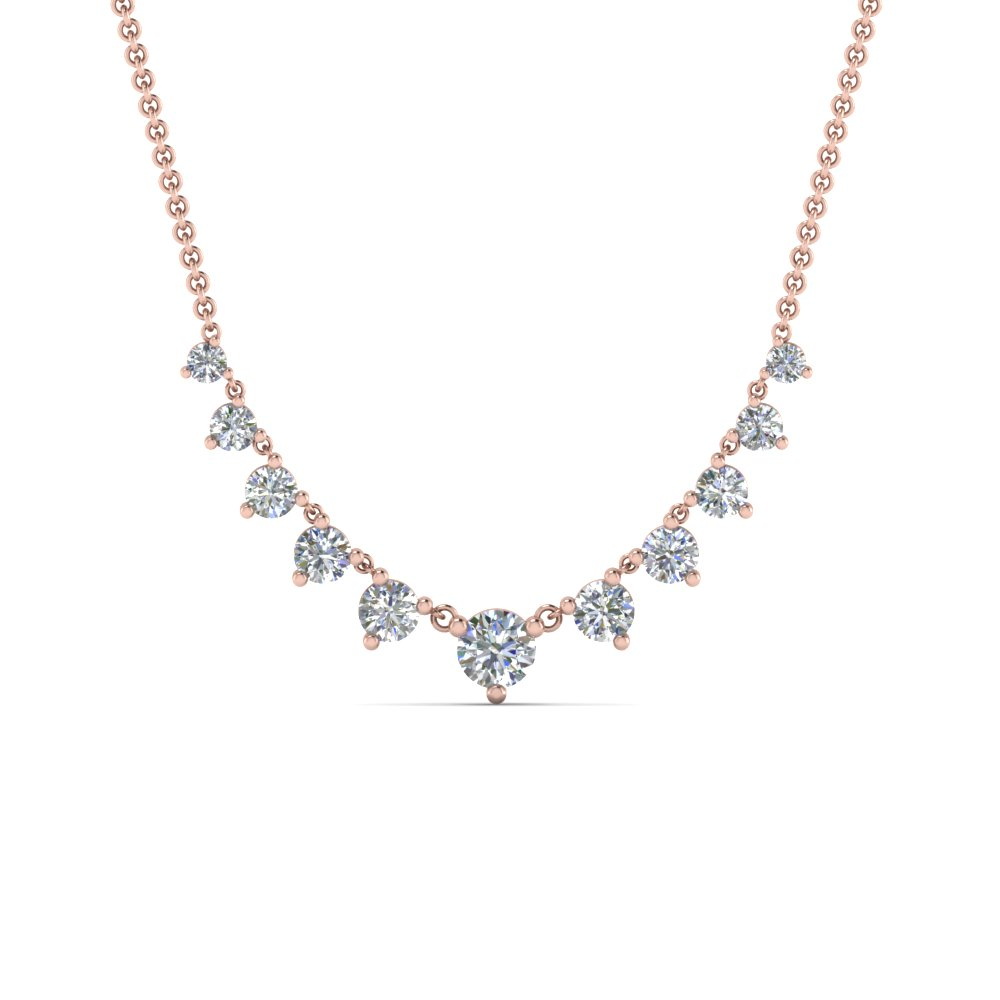 graduated-diamond-necklace-in-FDNK9194ANGLE2-NL-RG
