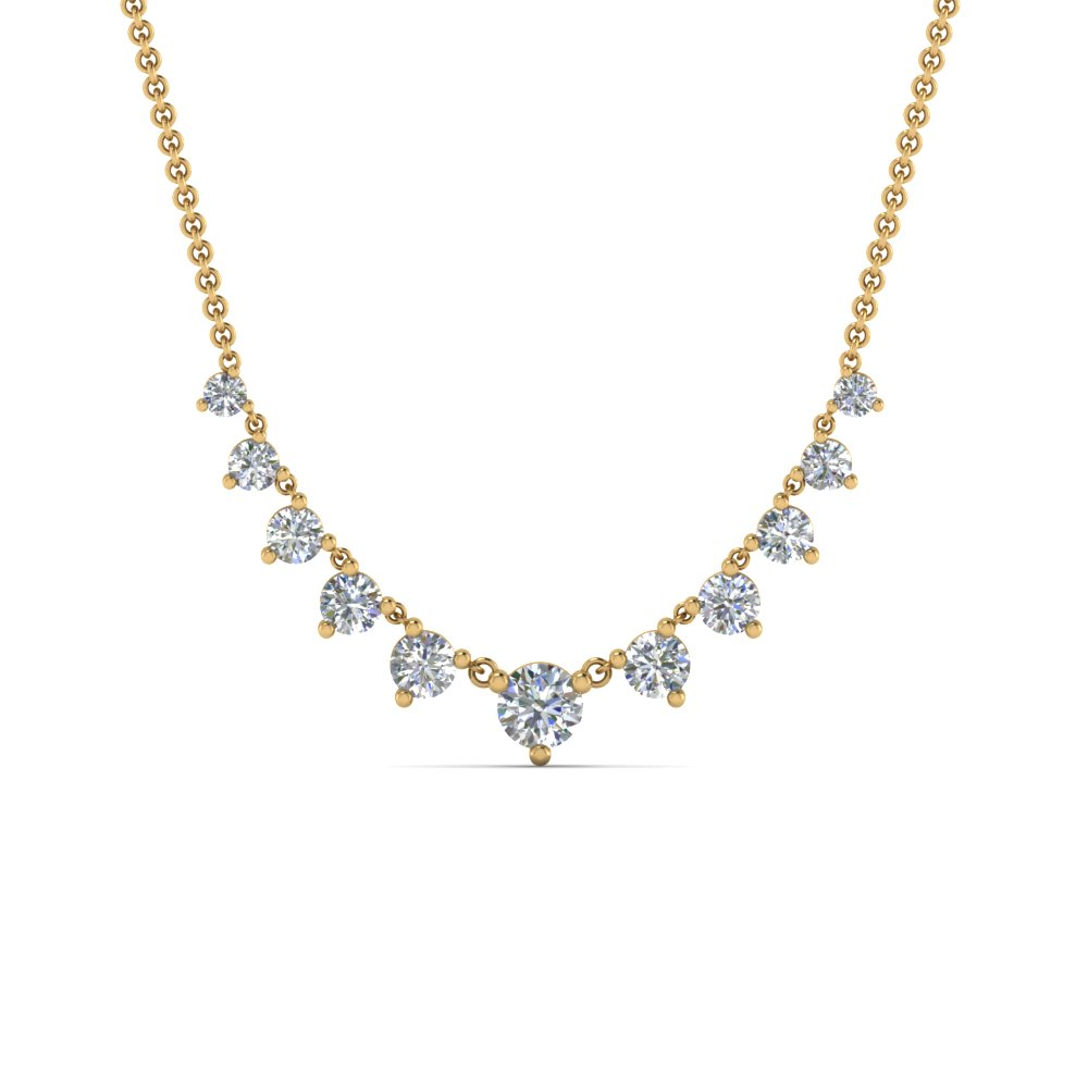 graduated-diamond-necklace-in-FDNK9194ANGLE2-NL-YG