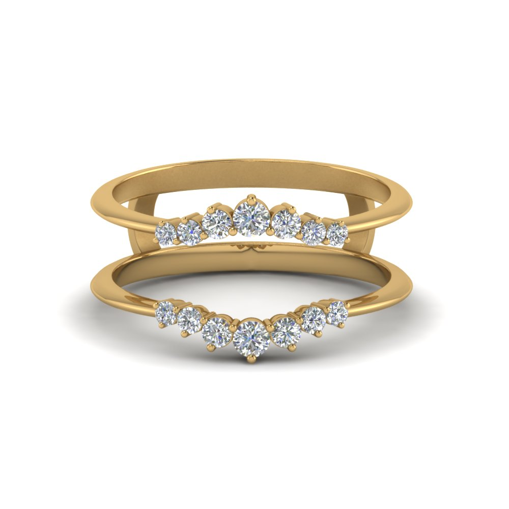 Beautiful Diamond Ring Guards