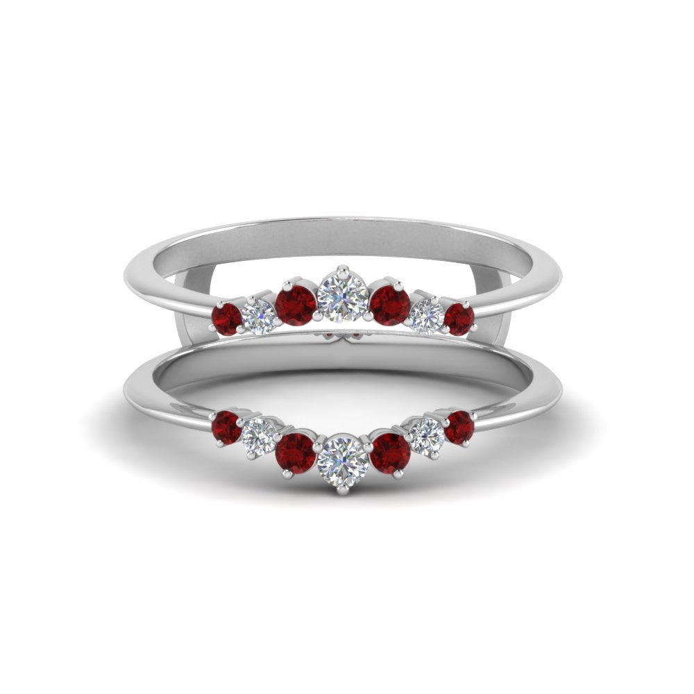 graduated-diamond-ring-guards-with-ruby-in-FD123196RWGRUDR-NL-WG