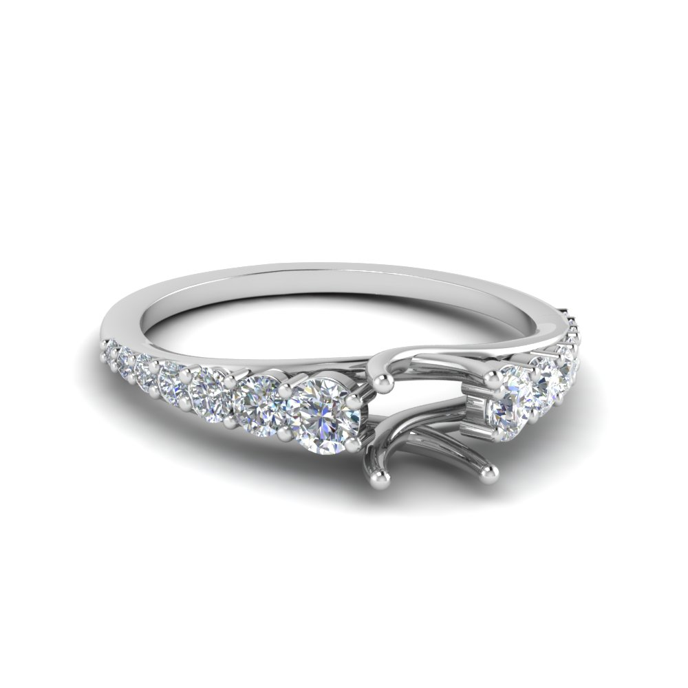 Semi Mount Wedding Ring