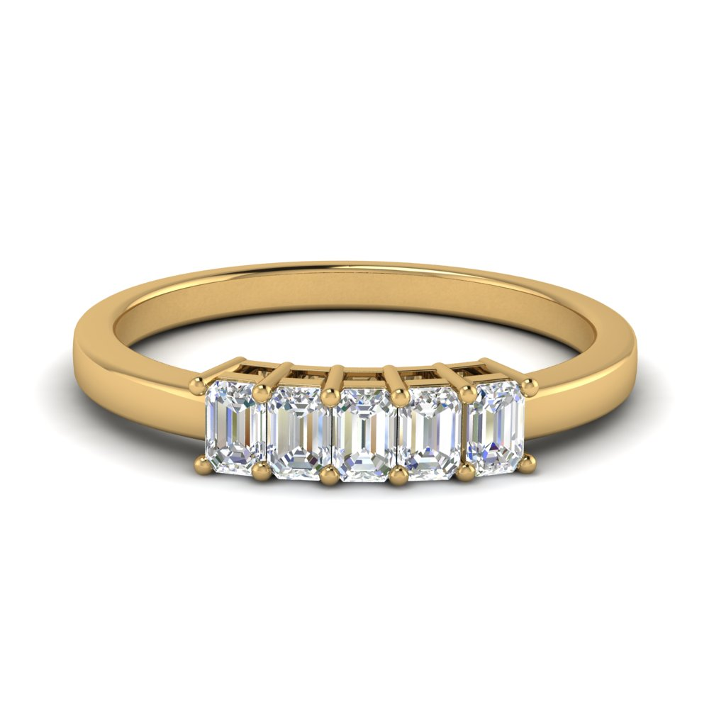 half-carat-5-stone-wedding-band-in-FD9294EMR-NL-YG