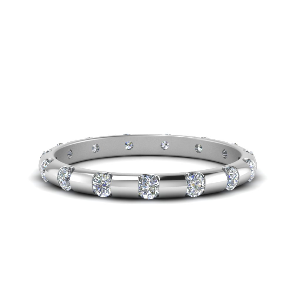 Bar Set Diamond Eternity Band