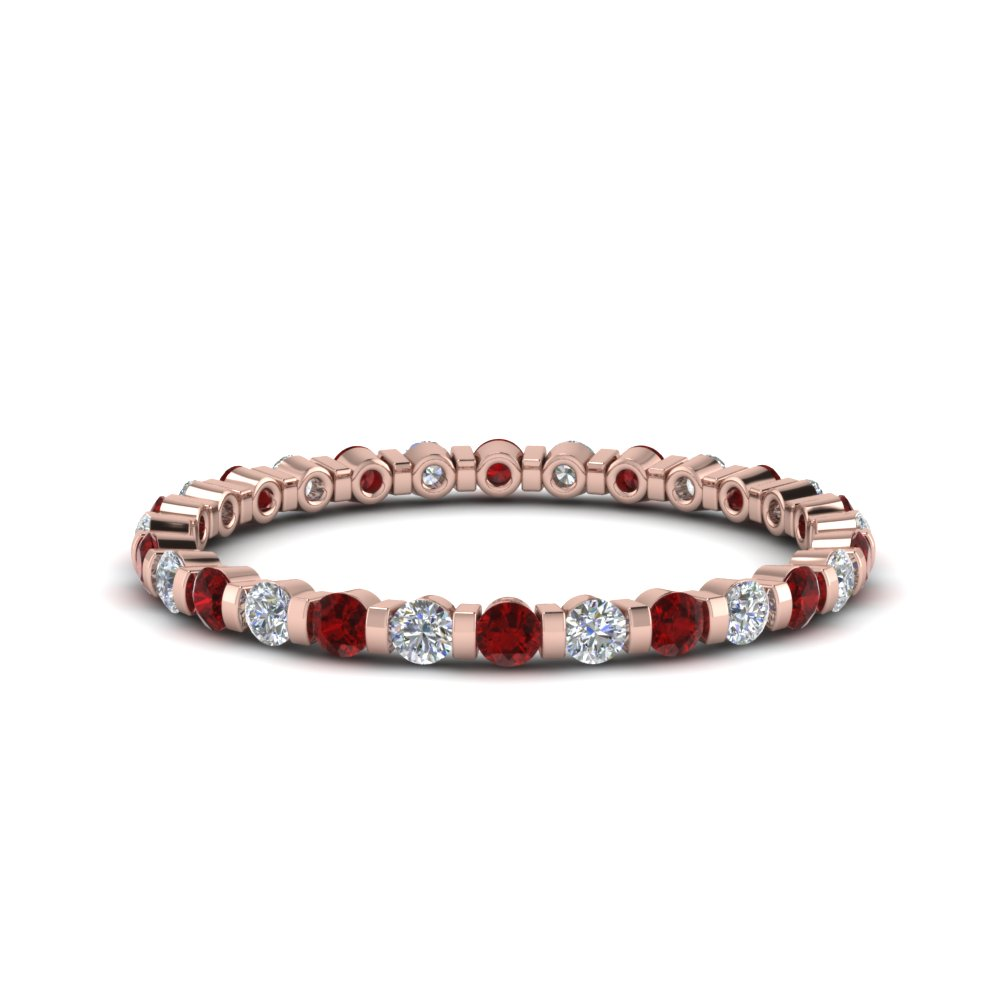 half-carat-round-diamond-bar-set-eternity-band-with-ruby-in-FD123625ROEWB(0.02CT)GRUDR-NL-RG