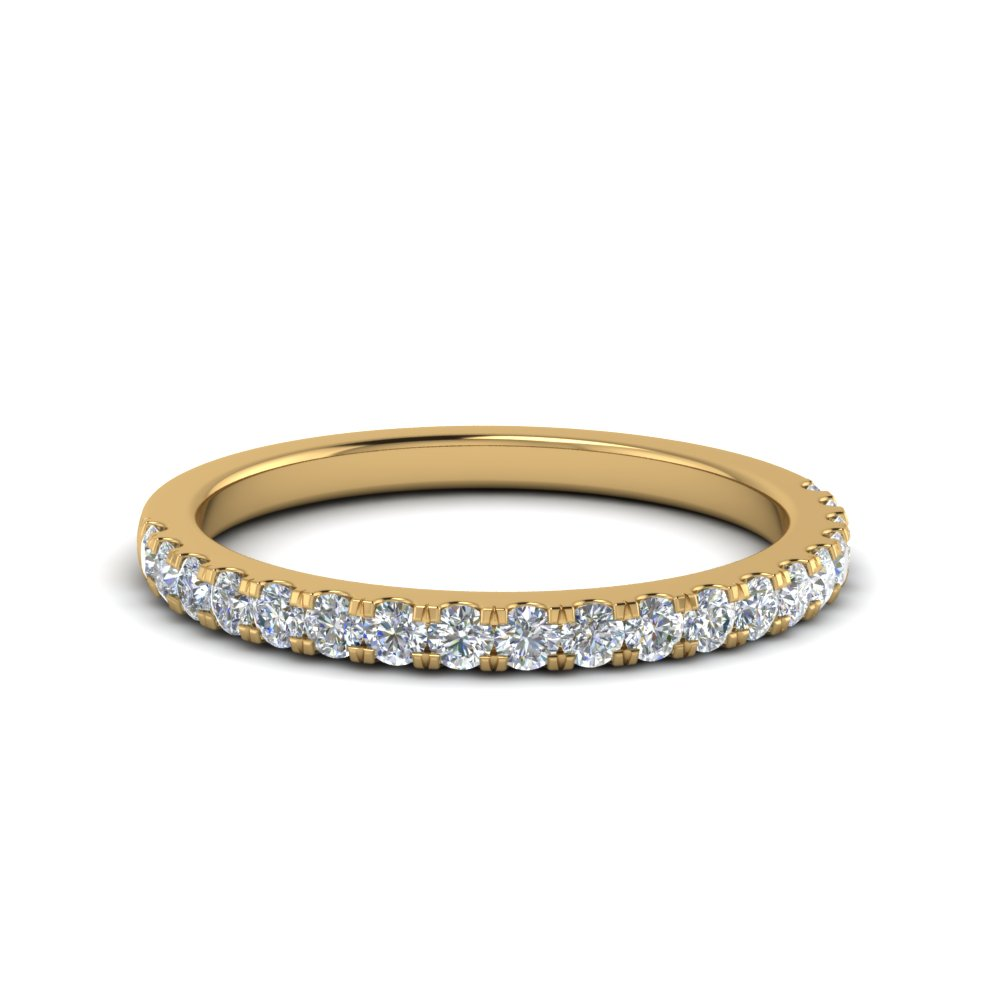 Delicate Round Diamond Band 0.50 Ct.