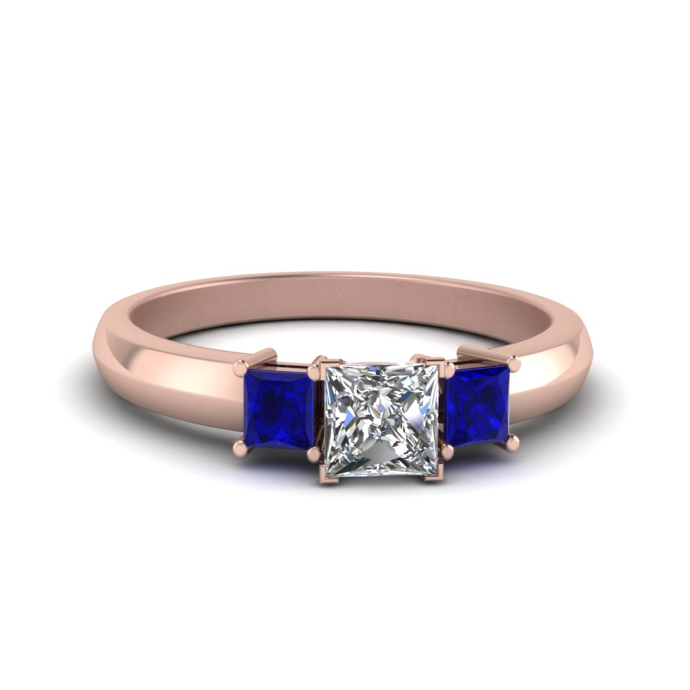 ring milgrain engagement peach watch ceylon sapphire carat rose diamond in halo pink gold