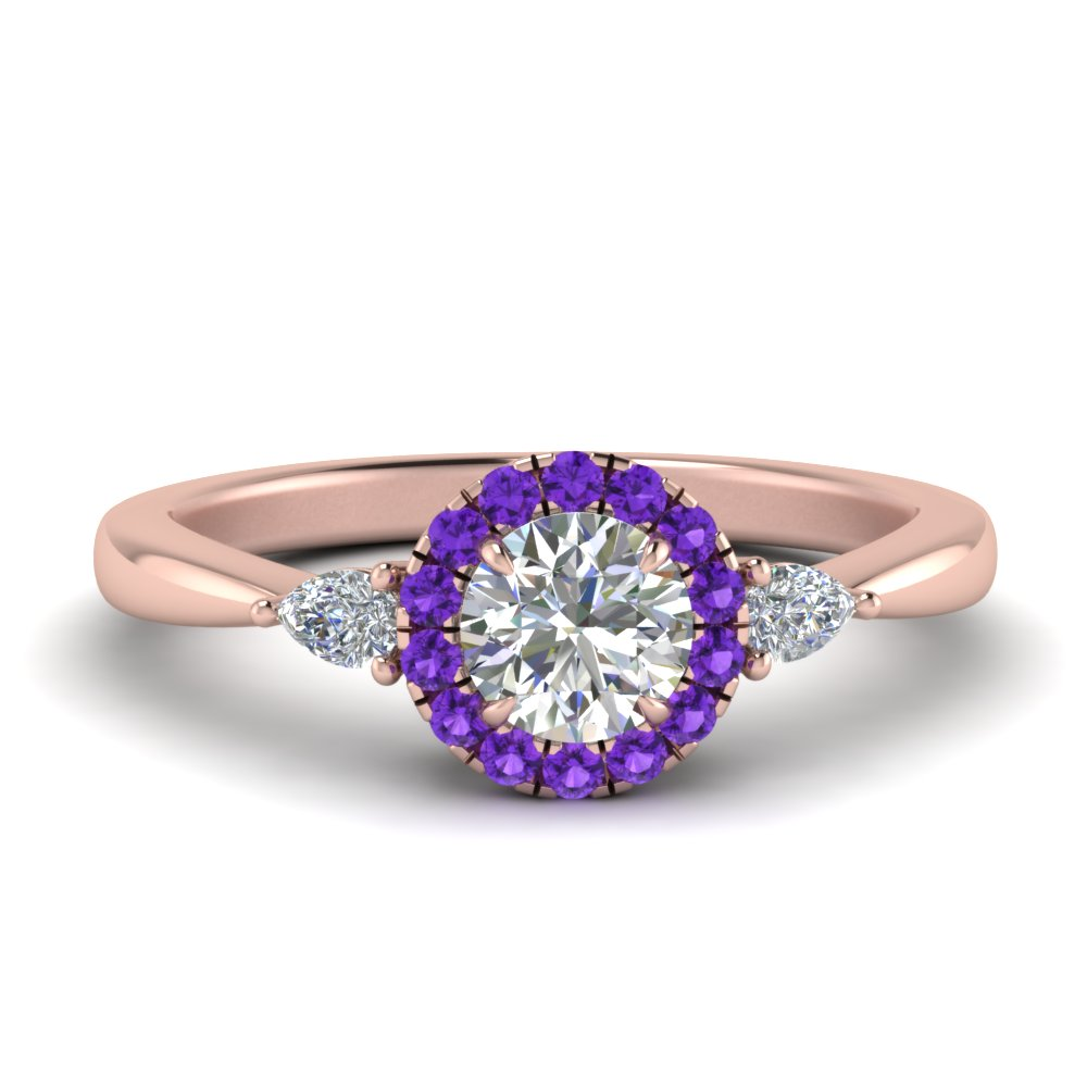halo-diamond-ring-pear-accent-with-purple-topaz-in-FD9211RORGVITO-NL-RG