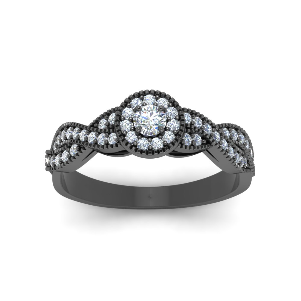 halo bijoux o radiant with round prong multi engagement cut ring infinity stone diamond majesty