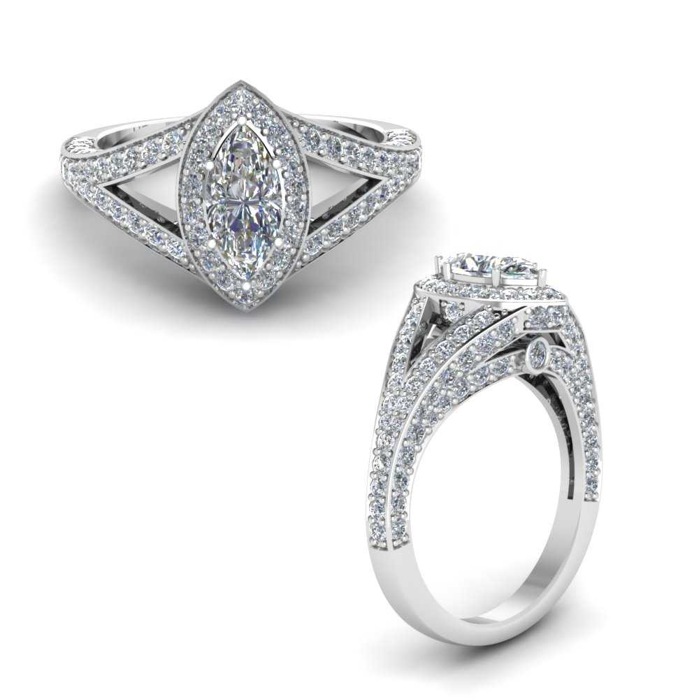 marquise shaped white diamond halo engagement rings. Black Bedroom Furniture Sets. Home Design Ideas