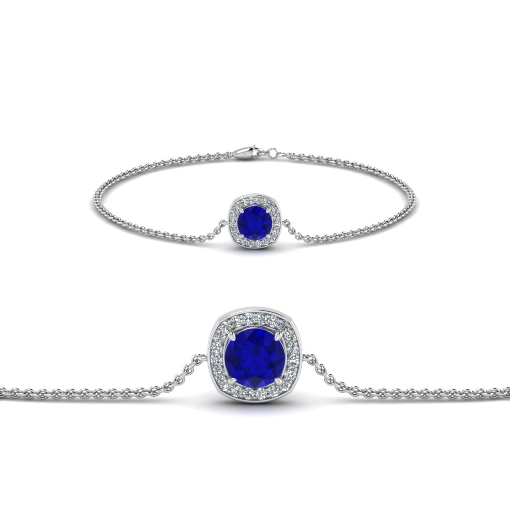 sapphire blue topaz miadora silver product sterling and free jewelry shipping watches overstock today bracelet